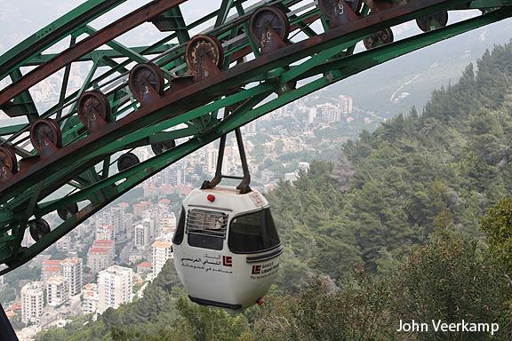 Lebanon-cable cars