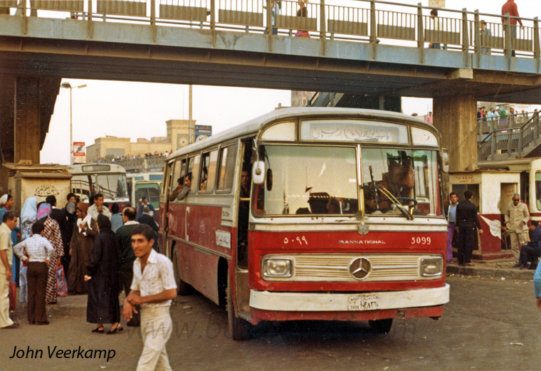 Buses in Egypt-Cairo-MB-O302