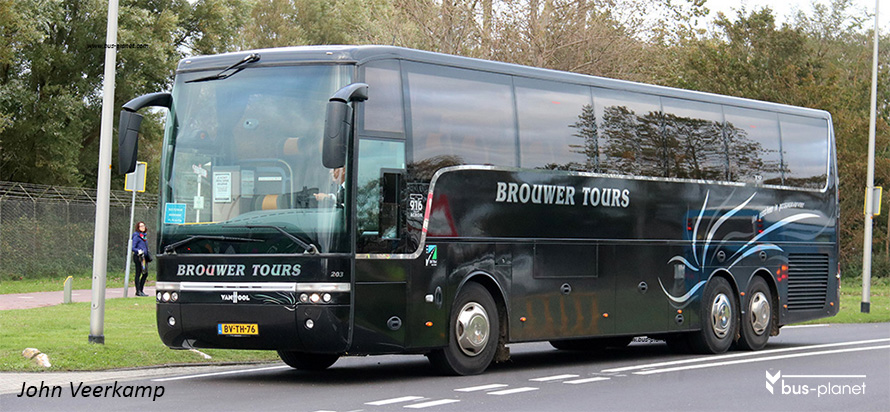 click on the picture for a collection of Brouwer buses