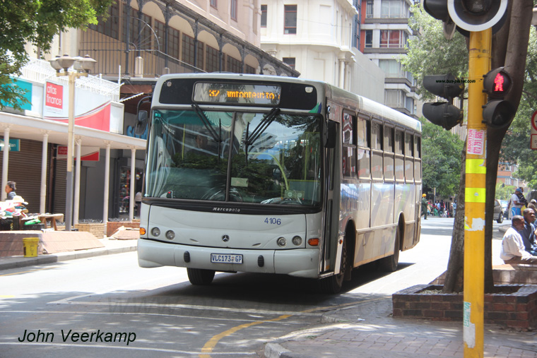 Buses in South Africa-Metrobus Johannesburg