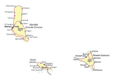 map-Comoros