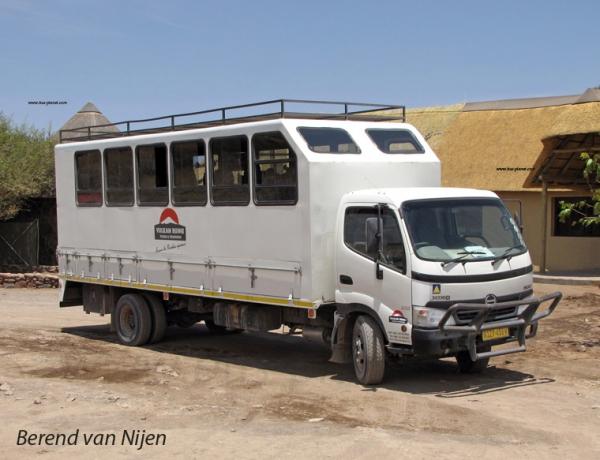 Buses in Namibia by Berend van Nijen