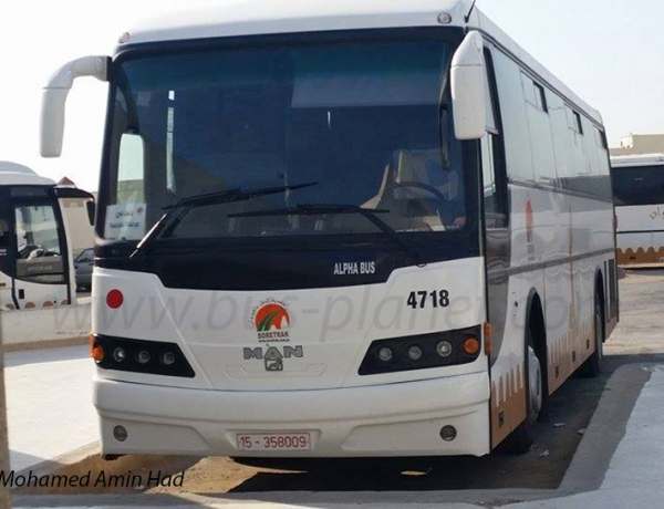New Hafilat buses in Cairo by Mohamed Farid